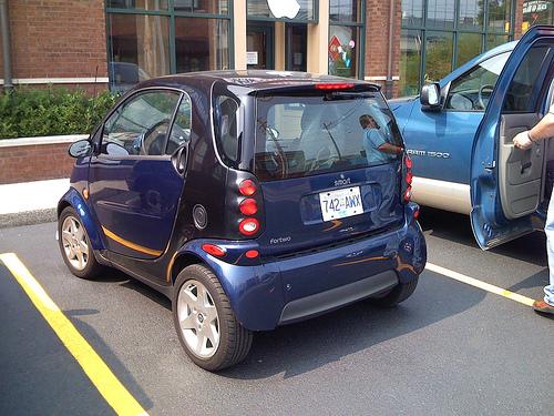 Amerykanie zmieniają samochody na mniejsze