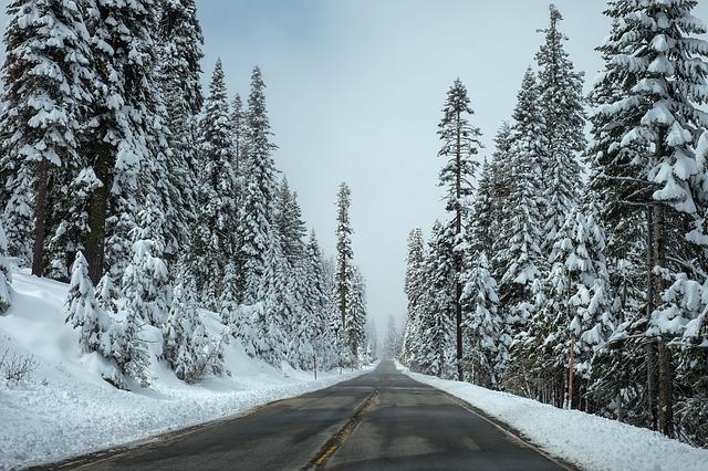 Zima atakuje samochody